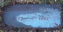 Katherine Marie <i>Koster</i> Behnke