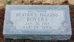 Beatrice Leona 'Onie' <i>Higgins</i> Boyers