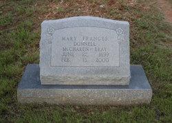 Mary Frances <i>Donnell</i> Bray