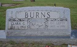 Clara G. <i>Martin</i> Burns