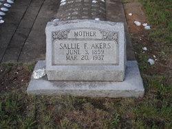 Sarah Frances Sallie <i>Young</i> Akers