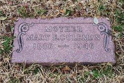 Mary Ethel <i>Savage</i> Coleman
