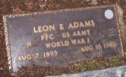Leon E Adams