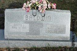 Mattie Loella <i>Orr</i> Baldwin