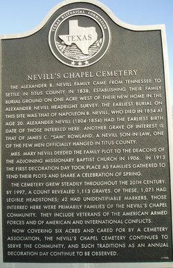 Nevills Chapel Cemetery
