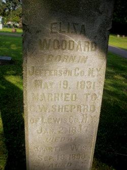 Eliza <i>Woodard</i> Shepard