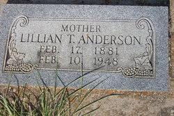 Lillian <i>Thompson</i> Anderson