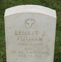Ernest J Fulham