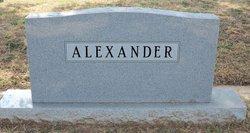 Betty <i>Givens</i> Alexander