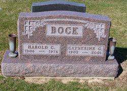 Catherine G <i>Reilly</i> Bock