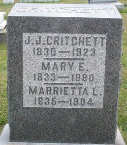 Marietta <i>Lee</i> Critchett