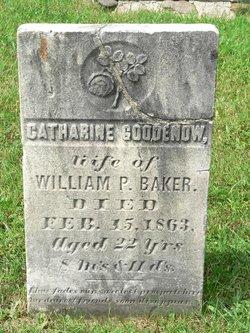 Catharine <i>Goodenow</i> Baker