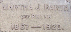 Martha J. <i>Reiter</i> Barth