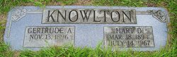 Gertrude A Knowlton