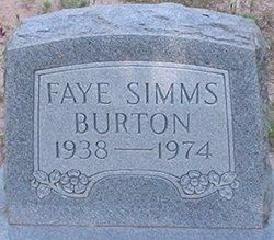 Faye <i>Simms</i> Burton