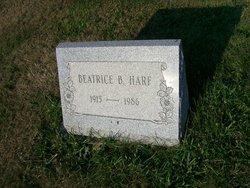 Beatrice B <i>Benner</i> Harf