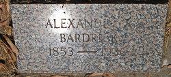 Alexander R Bardrick