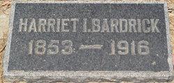 Harriet Irwin <i>Struble</i> Bardrick
