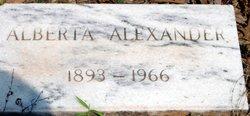 Alberta Alexander