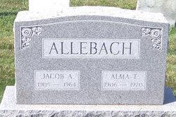 Mrs Alma T. <i>Clemens</i> Allebach