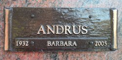 Barbara Andrus