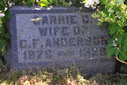 Carrie C. <i>Bobo</i> Anderson