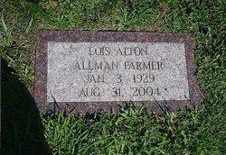 Lois Lucille <i>Alton</i> Allman Farmer
