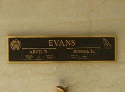 Arvil Dewitt Evans, Jr