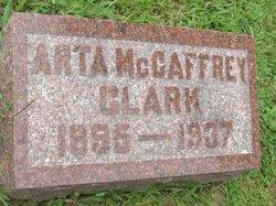 Arta <i>McCaffrey</i> Clark