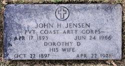 John H Jensen
