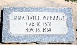 Emma <i>Hatch</i> Wherritt