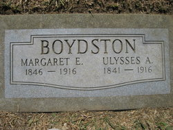 Margaret Elizabeth <i>Graves</i> Boydston