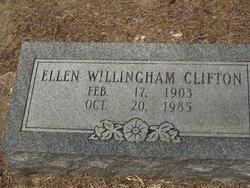 Ellen <i>Willingham</i> Clifton