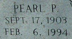 Pearl <i>Peercy</i> Francis