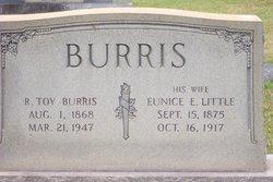 Eunice E <i>Little</i> Burris