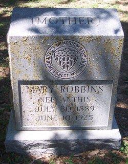Mary <i>Anthis</i> Robbins