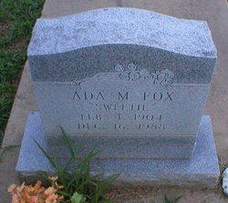 Ada M. Fox