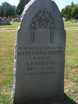 Mary Emma <i>Shelby</i> Barling