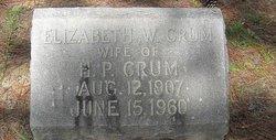 Elizabeth W Crum