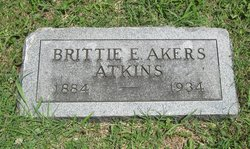 Brittie E. <i>Akers</i> Atkins
