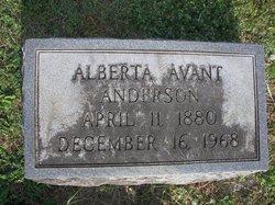 Alberta Pearl Berdie <i>Avant</i> Anderson
