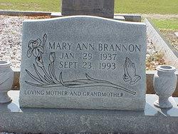 Mary Ann Brannon