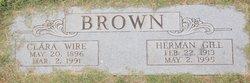 Clara <i>Wire</i> Brown