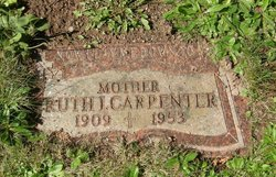 Ruth J. <i>Chatterton</i> Carpenter