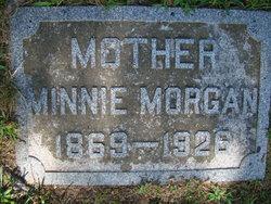 Minnie M <i>Sallee</i> Morgan