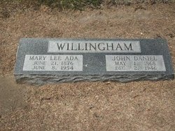 Mary Lee Ada <i>Reeves</i> Willingham