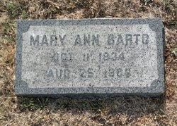 Mary Ann Barto