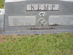 Velma Marie <i>McGough</i> Kemp