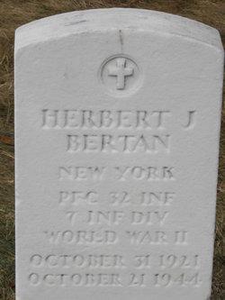 Herbert J Bertan