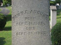 Rev Phillip F. August